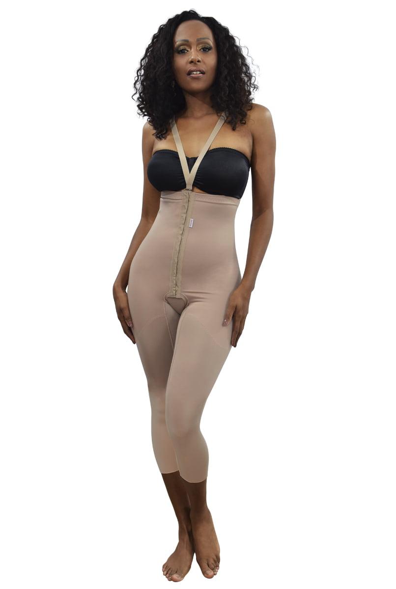 Cinta modeladora, cintura alta, longa