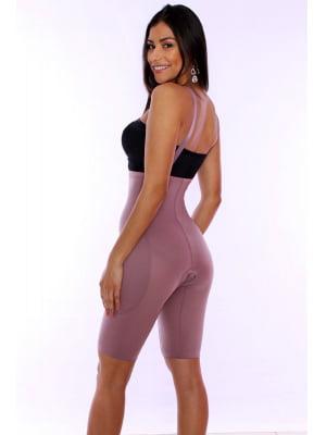 Cinta modeladora, cintura alta, meia perna