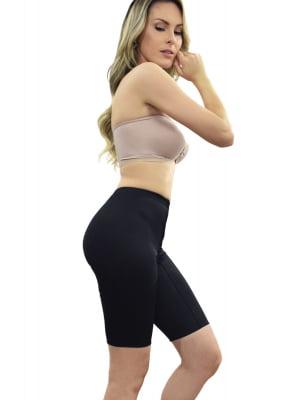 Cinta modeladora, cintura normal, meia perna
