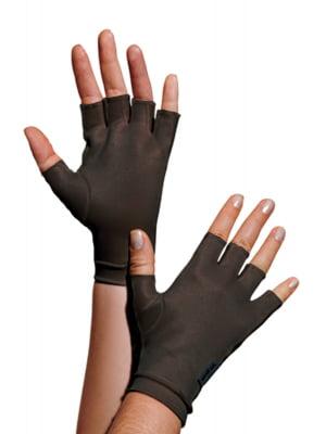 1334 - Luva meio dedos, curta