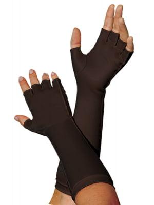 1334A - Luva meio dedos, longa