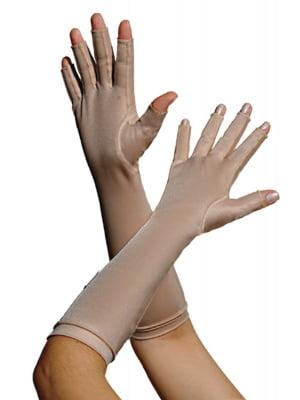 1335A - Luva com dedos, longa
